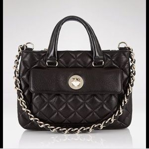 Kate Spade Quilted Top Handle Chain Strap Satchel